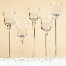 stemmed glass candle holders stemmed candle holders stemmed votive candle holders whole stemmed glass candle holders