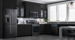 kitchen island furniture stainless steel appliance rustic kitchen basement these samsung black stainless
