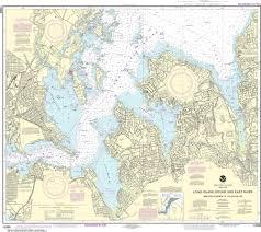 Noaa Nautical Chart 12366 Long Island Sound And East River Hempstead Harbor To Tallman Island