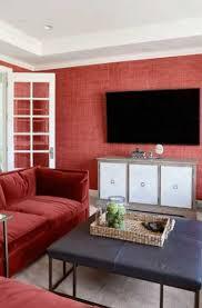 17 red living room decor ideas