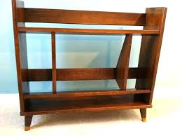 mid century modern target bookcase side table porter coffee stand wood desk antique furniture planter c