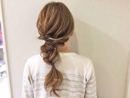 ちょっと不思議なシルエットが可愛いくるりんぱだけで作れるヘア