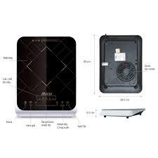Mã 88ELSALE hoàn 7% đơn 300K] Bếp điện từ cảm ứng SUNHOUSE MAMA SHD6859 -  hàng chính hãng