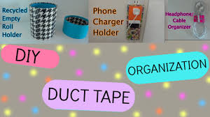 diy room organization phone charger holder pencil holder headphone organizer you