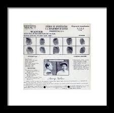 Criminal Wanted Poster Simple Baby Face Nelson Wanted Poster 48 Framed Print By Science Source