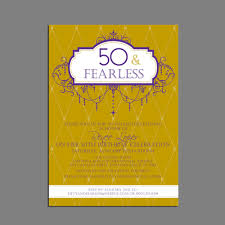 50th birthday party invitations amazon