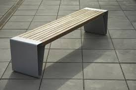 Wonderful Outdoor Steel Bench Powder Coated Outdoor Steel Bench Modern Park Benches
