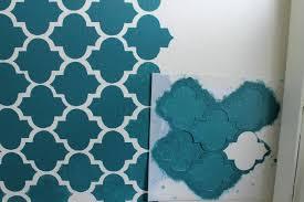 wall paint design stencils wall stencil