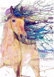 horse print equestrian equine art abstract horse painting abstract horse art paintings