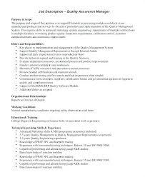 It Operations Manager Job Description Job Performance Evaluation