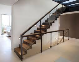 Amusing Modern Staircase Glass Railing Designs Pics Design Ideas