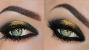black eye makeup tutorial