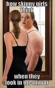 skinny fat girl - quickmeme via Relatably.com