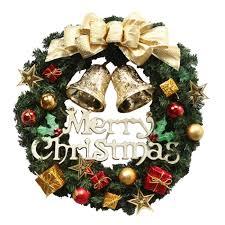 Cozywind Weihnachtskranz 30cm Druchmesser Tür Kranz Außen Weihnachtsdekoration Für Tür Und Fenster Deko Wandkranz Weihnachtsdeko Gold