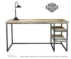 long wooden desk view in gallery reclaimed wood extra office long wooden desk