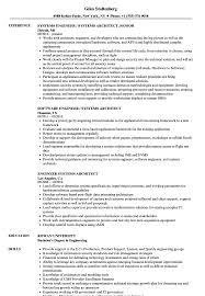 System Architect Sample Resume Engineer Systems Architect Resume Samples Velvet Jobs 12