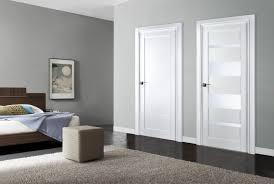 interior door. Arazzinni Mirella Bianco Nobile 8-ft Modern Interior Door