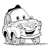 Kleurplaat Cars Pixar 2359