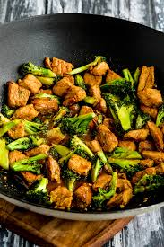 pork and broccoli stir fry with ginger
