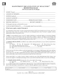 Standard Lease Agreement Pdf   Nickcornishphotography.com