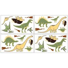 image of dinosaur wall decals target