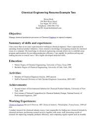 chemical engineering resume objective statement entry level engineering resume objective general engineering entry level mechanical engineering resume samples sample entry