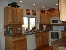 Recessed Kitchen Cabinets Kitchen Extraordinary Kitchen Design Ideas With Light Brown Wood