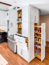 kitchen storage furniture ideas. Custom Pantry Kitchen Storage Cabinet In White Made Of Wood: Full Size Furniture Ideas