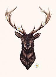 пин от пользователя анна милош на доске олень тату олень олень