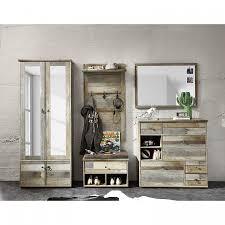 Garderobeset Tapara 5 Delig Bruingrijs Home24nl