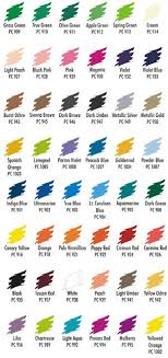 Staedtler Colored Pencils 48 Color Chart Carpe Diem Store Art Architecture Hobby And Crafting Supplies