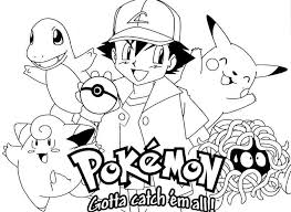 Pokemon Coloring Sheets Printable Printable Pokemon Coloring Pages
