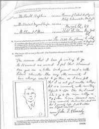unusual college essay questions for the washington post john f kennedy s harvard application essay jfk library and museum
