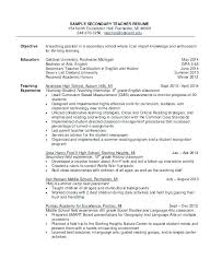 Teaching Objective For Resume Epic Good Objective Teaching Resume