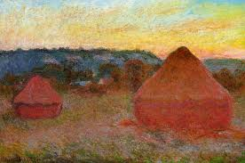 claude monet 1840 1926 grainstacks at the end of the day autumn