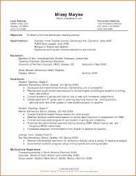 Student Teacher Resume Elementary Proposaltemplates Info Cover Letter