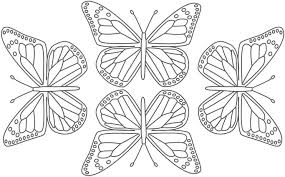 Butterfly Coloring Pages With Butterfly For Adults To Color David