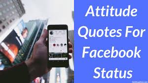 1000 Attitude Quotes For Facebook Status Best Attitude Status 2019