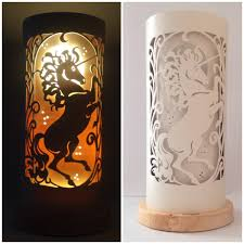 Unicorn Table Lamp Etsy