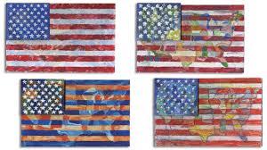 jasper johns map flag project 233