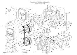 bs14002 ridgid table saw parts master tool repair Drill Press Diagram bs14002 saw table parts