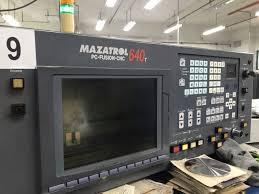 mazak cnc. used mazak qt-6t quick turn cnc lathe cnc