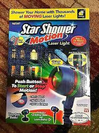 Star Shower Light Projector New Star Shower Motion Outdoor Laser ...