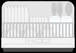 食器洗い機家電機器白物家電フリーイラスト素材無料商用利用可