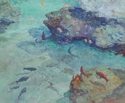 william ritschel between c reefs tahiti