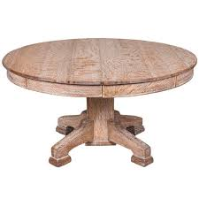 limed oak circular dining table for at 1stdibs best limed oak dining tables