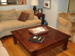 big coffee tables wooden table on the wooden