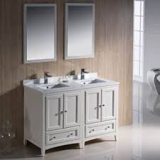 48 inch double sink vanity top. fresca oxford 48-inch antique white traditional double sink bathroom vanity 48 inch top s