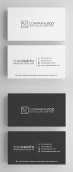 Simple Business Card Design Template 25 Minimal Clean Business Cards Psd Templates Idevie