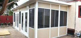 glass porch enclosure new patio covers patios cover install insulated lanai enclosures cost